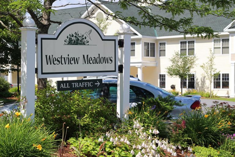 Westview Meadows entrance